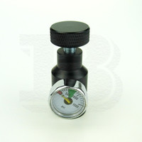 Wholesale New Paintball Airsoft Air Gun PCP Remote On Off ASA CO2 Fill Adapter With PSI Gauge NPT BLACK