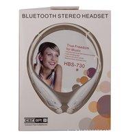 Leather best wireless headphone - Best Quality HBS HBS Sport Neckband Headset In ear Wireless Headphones Bluetooth Stereo Earphones Earphone For LG mobile iphone