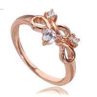 Cheap Hot Sale ! 2015 New Alloy Women Ring Stunning Round Cut Rhinestone Jewelry CZ Alloy Ring Size 6 7 8