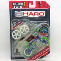 alloy wheel display - Flick Trix Bmx Mini Finger Bike quot BULE GREEN quot Alloy model bikes with wheels trick bars display stand bonus stickers and tools