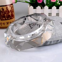 Wholesale Factory direct crystal ashtray TKV hotel supplies business gifts home accessories