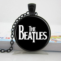 Pendant Necklaces beatles band pictures - The Beatles Necklace Glass Picture Pendant Music Pendant Band Jewelry Glass Cabochon Necklace P