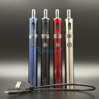 beat kits - Original Kanger Kit Evod Mega E Cigarette Starter Kit mAh Battery With Dual Coils Atomizer Best Vaporizer Pen Beat All eGo EVOD Kits
