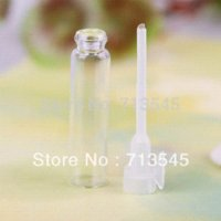 Wholesale 100pcs Glass Vials Small Empty Laboratory Bottles Perfume Liquid Oil Fragrance ml fragrance bottle fragrance glass