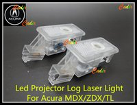 acura tl projector - Car LED Courtesy Door Laser Projector Shadow Logo Light for Acura MDX ZDX TL