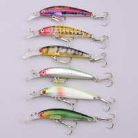bass fishing lakes - Best Shallow water Lake Bass Crankbaits Fishing Lures cm g colors Minnow ABS Plastic hard Bait carp Wobble fishing baitfish