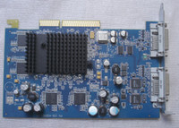 64 Bit ati agp video cards - 630 ATI Radeon Dual DVI AGP MB Video Card for Power Ma G5 A5850120