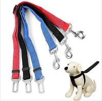 belt leash - BBA4094 ps top quality factory price color Adjustable Car Vehicle Safety Seatbelt Seat Belt Harness Lead for Cat Dog Pet CM