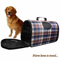 big dog cages - Pets Carry Bag Sweet Cute Pet Home Puppy Big Dog Cat Travel Carrier Cage Products