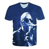 Cheap Alisister harajuku style men women's 3d t shirt jay-z clothing hip hop punk tshirt summer style Crewneck Unisex t-shirt tops