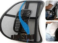 lumbar support - hot selling black mesh lumbar back brace support cushion cool for office home car seat chair low price good quality