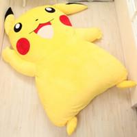 Wholesale Sleeping Bed Mattress Cover Large Cartoon Totoro Sleeping Bed Bag Holster Pikachu Cushion Cover