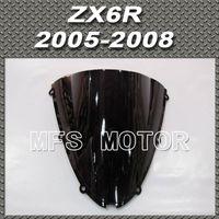 Wholesale Black Windshield Windscreen For Kawasaki ZX R ZX10R