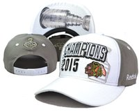 Wholesale 2015 New Arrival Hockey Hats Blackhawks Stanley Cup Champions Adjustable Ball Caps Snapback Cap Hats Hat