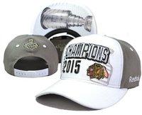 Wholesale 2015 New Arrival Hockey Hats Blackhawks Stanley Cup Champions Adjustable Ball Caps Snapback Cap Hats Hat