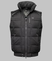 best mens down vest - Fall The Best Style Winter Mens Vest Fashion Parkas White Duck Down Outdoor Stand Collar Double Head Zipper Sale Hot
