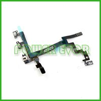 Wholesale Replacement Power Volume Button Switch Control Flex Cable Ribbon for iphone G by Chinapost