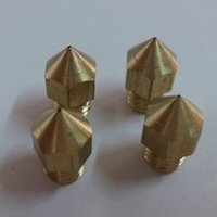 Wholesale New d printer parts nozzle brass nozzle mm for MK8 MK7 Head For MM Makerbot