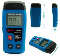 Wholesale Portable Digital Moisture Meter Wood Humidity Tester Measurement Resolution Accuracy up to Range