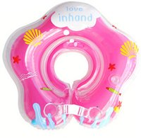 beach recreation - Indoor Children Baby Kids Infant Swimming Neck Float Ring Safety Aid Tube Swimming Neck Ring