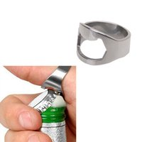Wholesale Brand New MM Stainless Steel Finger Ring Bottle Opener Bar Beer tool Ring Shape FMHM330