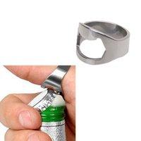Wholesale Brand New MM Stainless Steel Finger Ring Bottle Opener Bar Beer tool Ring Shape FMHM330