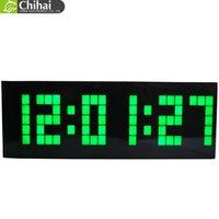 antique school clocks - Chihai Electronic Clock Multifunction Fashion Digital LED Wall Clock Large Display Plastic For Bedroom Office School Car