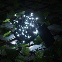 Lámpara de jardín al aire libre de control de temporizador de luz de la secuencia de LED 40M 300Leds fiesta de la decoración de la boda de Navidad 4Pcs * AA hada con pilas