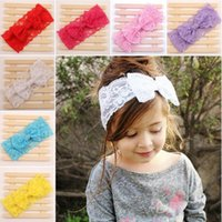 baby products - Children s lace bow hair band Europe and the of baby headbands new products