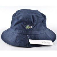 Ведра оптовой Цены-Оптово-Мода унисекс бренд хлопчатобумажные ткани шляпы для женщин мужчин шлема ведра кемпинга походы охота рыбалка на открытом воздухе боб хип-хоп плоские шапки