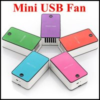 Wholesale Free DHL Mini Cooler Rechargeable Small USB mini Fan Handheld Mini air Conditioning Fan Portable Handheld Small Air Conditioning