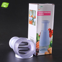 onion slicer - Fruit Vegetable Tools Grinder Garlic Press Crusher Kitchen Cooking Onion Chopper Vegetable Cutter Slicer dandys