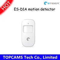 Wholesale etiger wireless motion detector pir detecotor ES D1A with Low battery alert work for etiger S4 S3b home alarm system