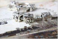 biagi bracelets and charms - 2 Silver Camera Beads Silver European Bead Charm Fit BIAGI Bracelet and necklace Z725