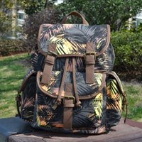 Wholesale New Arrival Women Canvas String Causal Backpack