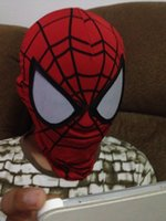 Wholesale Halloween high flexible amazing spiderman mask For PARTY one size fit for adult kids