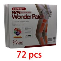 arm burning - 72pcs Mymi Wonder Slim Patch packs For Legs And Arm Slimming Products To Lose Weight And Burn Fat feet care anti celluliteJZ124