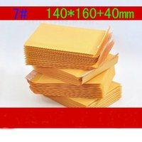 bubble envelopes - 100pcs NEW bubble envelope kraft bubble film bags yellow bubble envelope mm