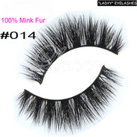 Wholesale 014 eyelashes real mink eyelashes long thick eyelashes sexy eyelashes false eyelashes