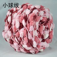 Wholesale Small Ball of Wool Scarf Wool Yarn Thick Wool Sweater Hand Material Other Knitting Process