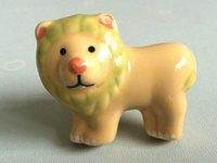animal door pulls - Lion Kids Dresser Drawer Knobs Pulls Handles Ceramic Kid Cabinet Door Furniture Knob Handle Pull Cartoon Animal Children