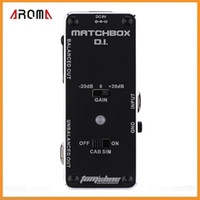 analogue systems - AROMA AMX MATCHBOX D I Transfer Guitar or Bass Signal Directly to Audio System Mini Analogue Effect Pedal True Bypass