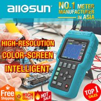Wholesale Single Channel Oscilloscope - Wholesale-all-sun Handheld Oscillograph 3 in 1 Multifunction Oscilloscope 50MHZ Color Screen Scopemeter Single Channel Hot Sale EM115A