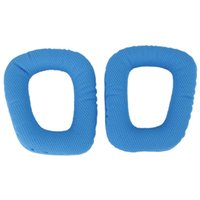 Wholesale 1 Pair Blue Replacement Ear Pads Ear Cushions for G35 G930 G430 F450 Headphone