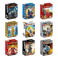 age blocks - Avengers Age of Ultron Iron Man Building Blocks Styles New The Avengers Iron Man DIY Bricks Toys B001