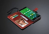 Wholesale Deluxe Retro Wallet PU Leather Case for Meizu MX4 Pro Flip Book Style Phone Bag Cover with Card Holder