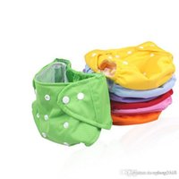 Wholesale 2015 Baby Newborn Diapers cover Washable Reusable bebe nappies changing cotton potty training pantcloth diapers Global shipping