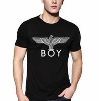 boy london - Mens T Shirts Fashion Brand Boy London Printed Tees Men Harajuku Letter Tops Camisetas T shirt Male Hip Hop Rock Streetwear