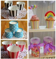 Wholesale 18 colors Paper Cake Cup Liners Baking Cup Party Decoration supplies Muffin Kitchen Cupcake Cases paper cake cups christmas gifts A0299