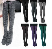 women winter tights - 7007 Hot selling Comfortable Women Cotton Tights Pants Leggings Stirrup Winter Warm Colors winter leggings tights